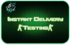 Instant delivery test product